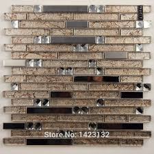 Metal Kitchen Backsplash Tiles Cheap Bandejas De Acero Inoxidable Cocina Backsplashes Del Vidrio