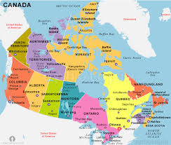 map if canada canada map political city map of canada city geography