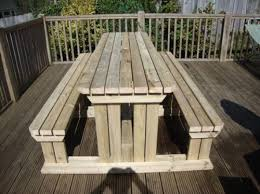 Plans For Building A Heavy Duty Picnic Table by 16 Beautiful Garden Picnic Bench Tables And Designs Planted Well