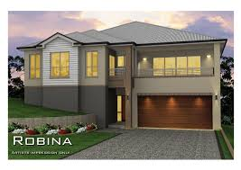 split level designs split level sideways sloping design home design tullipan homes