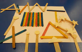 kids create with popsicle sticks early teacher
