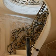 Wrought Iron Railings Interior Stairs Wrought Iron Railing With Bars Indoor For Stairs 02 La