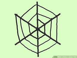 halloween string lights and netting page one halloween wikii 4 ways to make a spider web wikihow