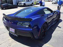 2016 corvette stingray price 2016 corvette z06 z07 in admiral blue metallic caught