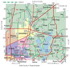 Map Of Western Suburbs Of Chicago by Collin County The Handbook Of Texas Online Texas State