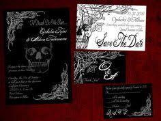 spooktacular halloween wedding invitations u part do u and till