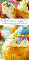 Easter Decorations For Cupcakes by Funfetti Easter Cupcakes Kleinworth U0026 Co