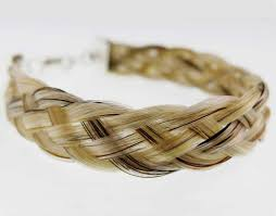 jewelry made from hair gemosi harmony hair bracelet made in ireland in sterling silver