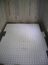 Tiling The Bathroom Floor - entrancing 10 white tile bathroom floor designs inspiration