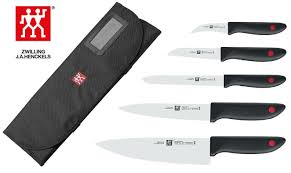 Zwilling Kitchen Knives by Exclusive Offer Zwilling 5 Piece Knife Set Roll Bag
