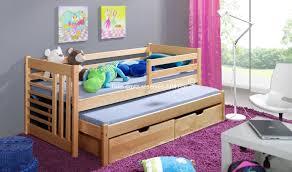 chambre en pin massif pas cher lit gigogne en pin massif alix lit ados deux couchages et tiroirs