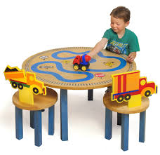 Toddler Wooden Chair Wooden Table Chair Set Kids Ebay Boys And Trucks Table And