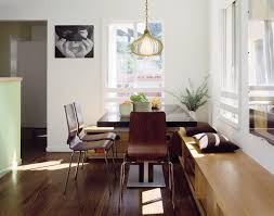 built in kitchen bench seating dining room modern with dining