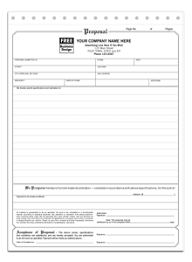 totally free proposal templates proposal form template