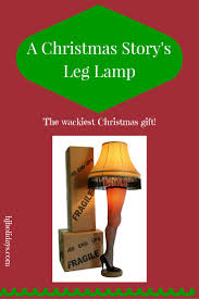 a christmas story u0027s leg lamp the wackiest christmas gift for