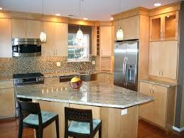 Small Kitchen Designs With Island Small Kitchen Designs With Island A White Kitchen With Glass Tile