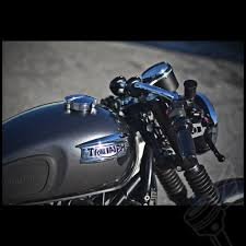 plastic ride side triumph tank badge for modern triumph twins