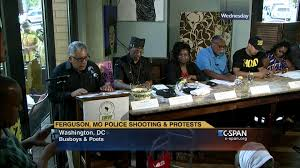 town hall ferguson mo police shooting protests aug 27 2014 c
