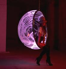 wagiman the hanging bubble chair goes hi tech