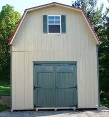 Gambrel Style Roof 2 Story Single Wide Sheds And Modular Garages The Barn Raiser