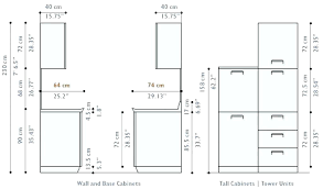what is the standard height of a kitchen wall cabinet kitchen cabinet height