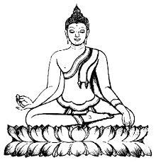 coloriage pays et regions bouddhas 2 à colorier allofamille