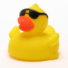cool sunglasses rubber duck for tub or spa the cover