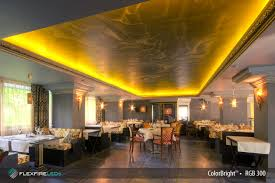 restaurant and bar lighting with led lights flexfire leds inc