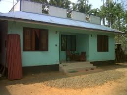 land and house for sale at kuttikad