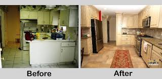 kitchen remodel ideas before and after small u shaped kitchen remodels turn a small u shaped kitchen