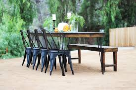 table and chair rentals san diego farm table bench rentals san diego