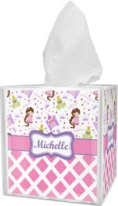 princess u0026 diamond print tissue box cover personalized potty patty