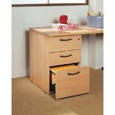 caisson bureau 3 tiroirs caisson hauteur bureau 3 tiroirs en bois l80cm