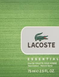 lacoste bureau 302 found lacoste lacoste essential eau de toilette 75 ml amazon co uk