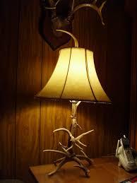 custom deer antler lamps