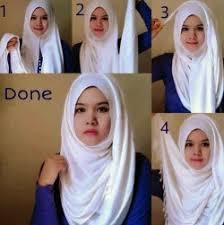 tutorial hijab pashmina kaos yang simple 30 tutorial hijab pashmina simple untuk wajah bulat yang kekinian