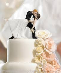 wedding cake topper a dip wedding cake topper custom colors