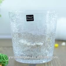 Buy Glass Vases Online Bulk Crackled Glass Vase For Decoration Cheap Wholesale Different