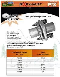 lexus rx300 exhaust system parts fx8053 2 1 2