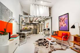 west village studio with an oddball loft bed seeks 675 000