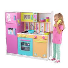kitchen set for kids pretend play kitchen set girls pink food oven