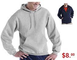 walmart deal fruit of the loom mens sweatshirts just 8 97