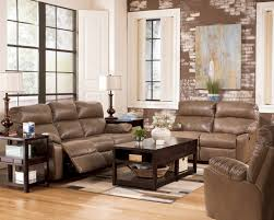 Benchcraft Leather Sofa by Buy Windmaster Durablend Taupe Reclining Sofa By Benchcraft