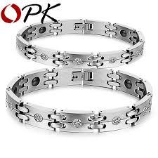 metal bracelet women images New fashion lovers 39 bracelet stainless steel imitated diamond jpg
