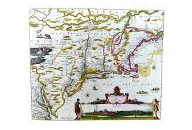 1662 map new england new belgium virginia omero home