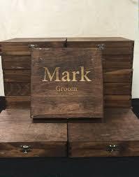 wooden groomsmen gifts rustic cigar box groomsmen cigar box best by engravemymemories