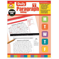 daily paragraph editing book grade 7