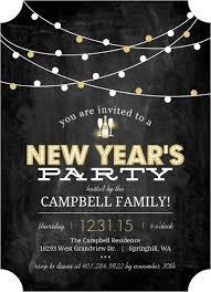 new year invitation new year s party invitations