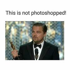 Leo Oscar Meme - leo finally wins an oscar and practically breaks the internet huffpost