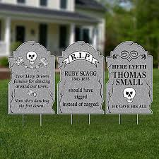 tombstone decorations save on our exclusive tombstone yard signs that are sure to add a